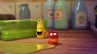 《爆笑虫子》小黄轻易泡泡吹, 小红鼻孔小入针!
