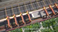 巨浪视觉-焊轨生产线演示动画-铁路钢轨道生产流程3D动画