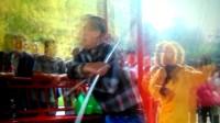 赞皇青年南马村王先生!小火车视频快手。拍摄于2017年9月。王先生47岁,视频留念。