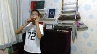 """""""木笛飞声--启航""""七重奏乐团成员韩光旭木质AC三管陶笛演奏《烟花易冷》"""