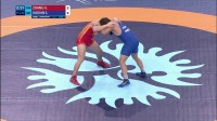 Qual. FS - 97 kg- S. KADIAN (IND) df. H. ZHANG (CHN) by VFA, 6-0(1)