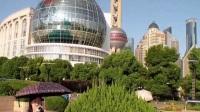 宏伟壮观的上海浦东新区