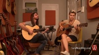 Guy Buttery and Kaki King - 'Freaky Friday' with the ToneWoodAmp_HD