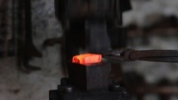 Forging the Sutton Hoo Axehammer. Part 2- The head.