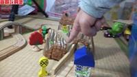 托马斯小火车 铁路轨道翻山越岭建设 托马斯和他的朋友们