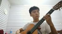 玫瑰波尔卡,古典吉他。