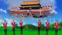 荆门市政广场舞  《北京的金山上》