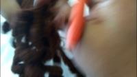 米艾编织第一集-西式结婚娃娃裙子,头发部分2