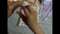 鱼尾花围巾编织视频教程