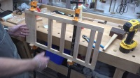 Making a Roll Top Desk Part 3