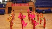 7-延安市喜迎十九大广场舞竞赛【大秧歌】领队;杨平子。李渠平安广场活动点选送
