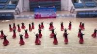 阿勒泰地区首届广场舞大赛富蕴文化馆参赛队