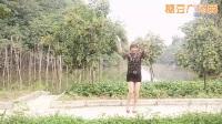 朱丽广场舞《好心情蓝蓝广场舞原创31【32步放歌走天涯附分解》(2)