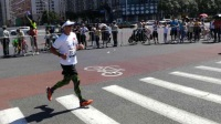 北京警察长跑俱乐部征战2017北京马拉松