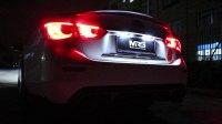【MRG.高性能排气】英菲尼迪Q50S 3.7中尾段双边单出阀门排气管 路试