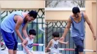 潘粤明8岁儿子近照 他真是最帅星二代