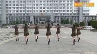 世外桃源万年青广场舞 格桑拉 水兵舞 背面
