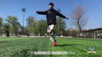 球学者足球教学 交叉步动作示范