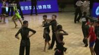 2017中国体育舞蹈公开系列赛(北京站)少儿II组缅甸万丰国际老百胜半决赛恰恰【VIP】高心怡  朱新奇