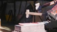 MAKING A HUNGA MUNGA- African Throwing Knife! Part 2