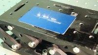 1微米 YLPN光纤激光器阳极氧化铝打标