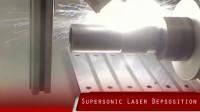 钛的超音速激光沉积