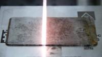 用1kW 脉冲光纤激光器表面清洗 2