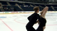 Anastasia SKOPTCOVA - Kirill ALESHIN RUS - Short Dance MINSK 2017