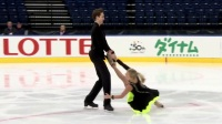 Arina USHAKOVA - Maxim NEKRASOV RUS - Short Dance MINSK 2017