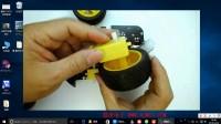 Arduino智能小车视频教程1-4 轮子安装 arduino机器人制作指南 arduinotom机器人