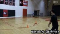 篮球技巧教学:史蒂芬库里闪电变向投篮 篮球过人教学