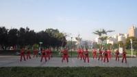 河南省新乡市老干部大学柔力球队表演《舞动中国印》