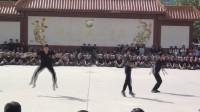 河北外国语学院2017年新生军训汇报之舞蹈技巧+热舞表演