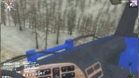 欧曼拖挂挑战沙漠地图,中途三次差点翻车