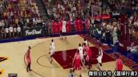 NBA詹姆斯-哈登原2k16亮点 背后运球