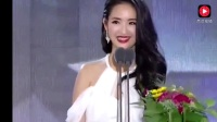 颜值才华俱佳啊, 林依晨韩国颁奖, 三国语言齐上阵, 主持人都看愣