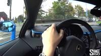 Shmee德国高速试驾兰博基尼Aventador S 300km-h