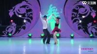 赫海涛与周周交谊舞 你是我的格桑花 表演 双人版