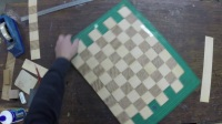 Making a Chessboard Top Pt.4 of 4