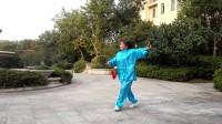 江西抚州体育馆健身一队  42式太极剑新音乐
