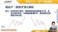 爱股轩陈斌宇技术分析全集37——《形态学》收敛 扩张三角形