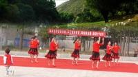 中秋节舞友联谊会肃宁县都中堡靓妹舞蹈队《马背上的情歌》