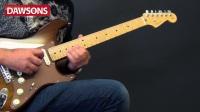 Fender 2017 Shedua Top Stratocaster试听