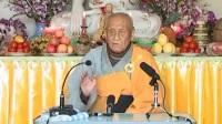 五台山梦参老和尚佛法开示地藏法门《佛七开示》