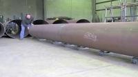 全向轮移动重型钢管应用
