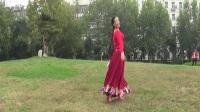 贞贞广场舞《天边的巴拉格宗》编舞:応子   春英  王梅