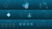 A2845 AE模板-150组科技感HUD显示界面 信息数据图表动画