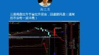 K线分时尾盘拉升的主力意图,股票主力洗盘手法避筹上攻的案例分析