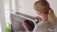 【触动力】烘干与熨烫同时进行的全自动干衣熨烫机Effie