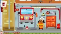 《我的城市消防站第1期 消防车灭火救援小猫咪》儿童游戏 糯米解说